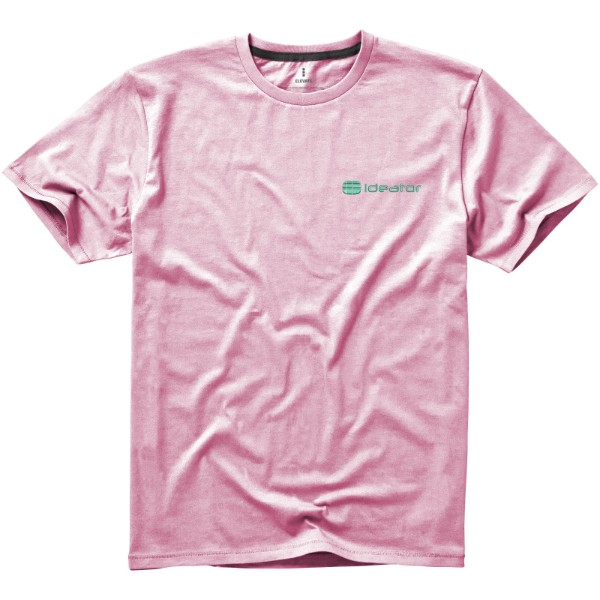 Nanaimo short sleeve men's t-shirt - Light Pink / XL