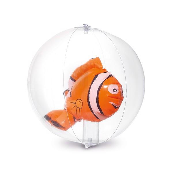 KARON. Nafukovací míč - Oranžová