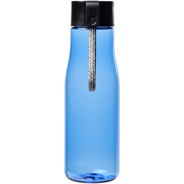 Ara 640 ml Tritan™ sport bottle with charging cable - Blue
