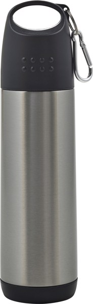 Aluminium double walled bottle - Silver