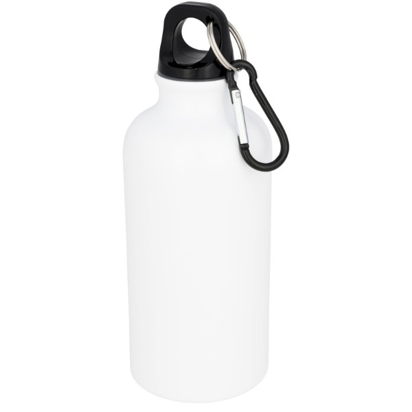 Oregon 400 ml sublimation sport bottle - White
