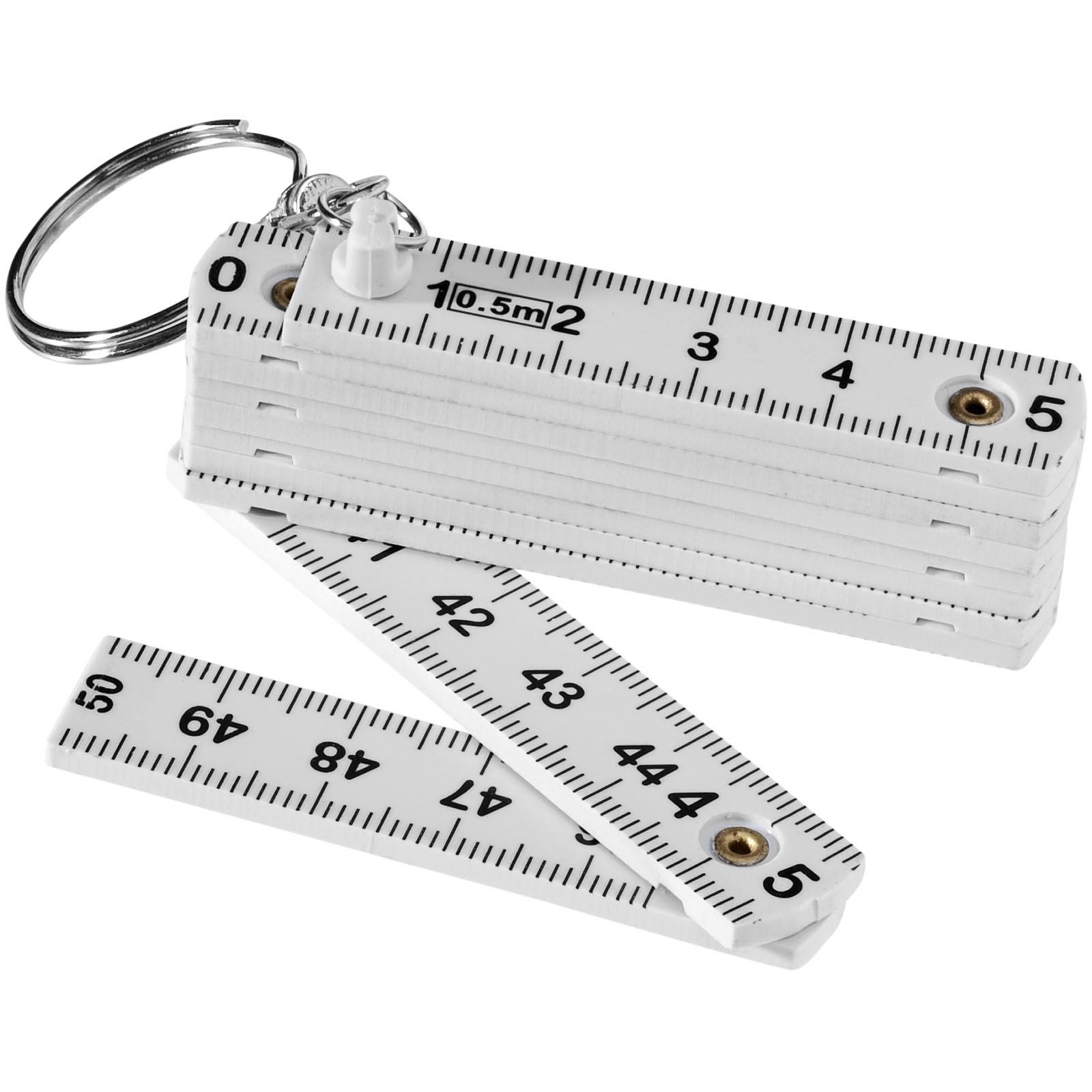 Harvey Schlüsselanhänger mit einklappbarem 50 cm Zollstock