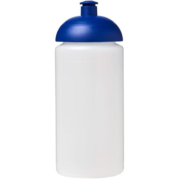 Sportovní láhev s kupolovitým víčkem Baseline® Plus grip 500 ml - Průhledná / Modrá