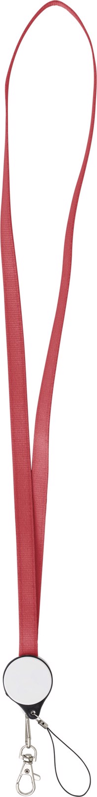 ABS 2-in-1 lanyard - Red