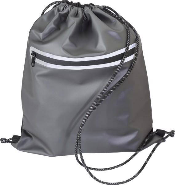 Rucksack aus Polyester (600D) mit wasserdichtem Kordelzug