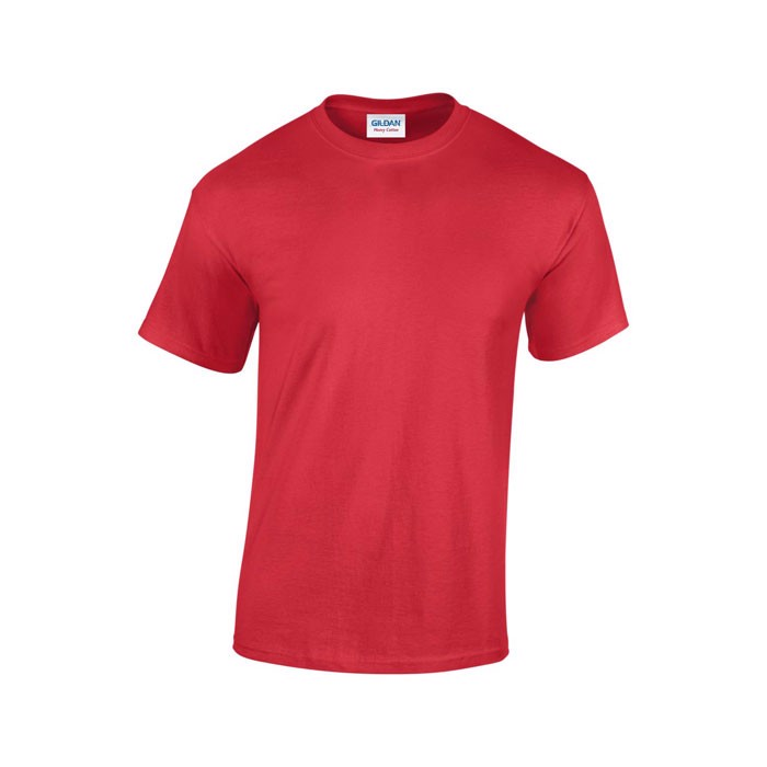 Tlusté tričko 185 g/m² Heavy T-Shirt 5000 - Red / L