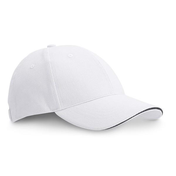 CHRISTOPHE. Baseballová čepice - Bílá