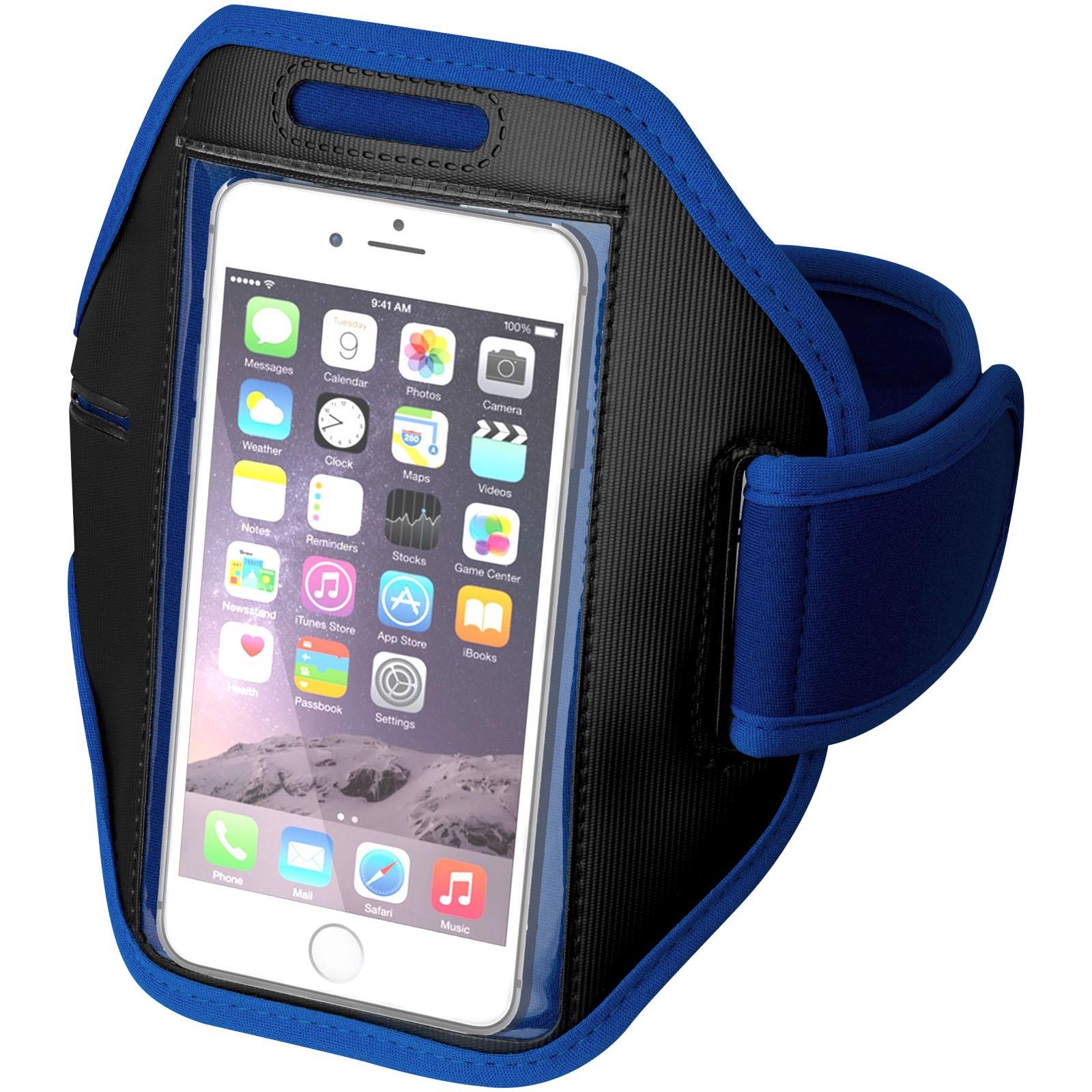 Gofax Smartphone Touchscreen Armband - Royalblau