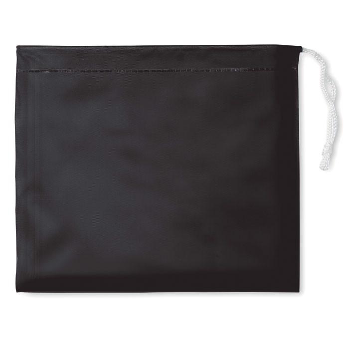 Regenmantel Regal - schwarz