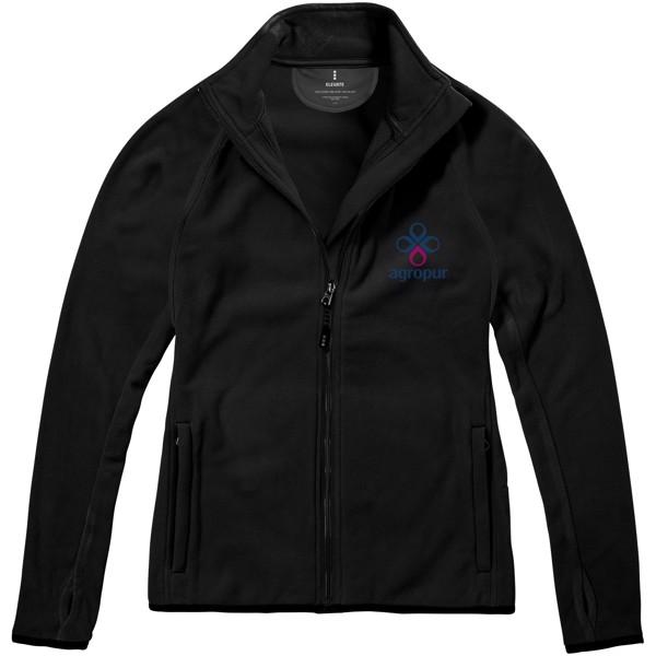 Brossard micro fleece full zip ladies jacket - Solid Black / XXL