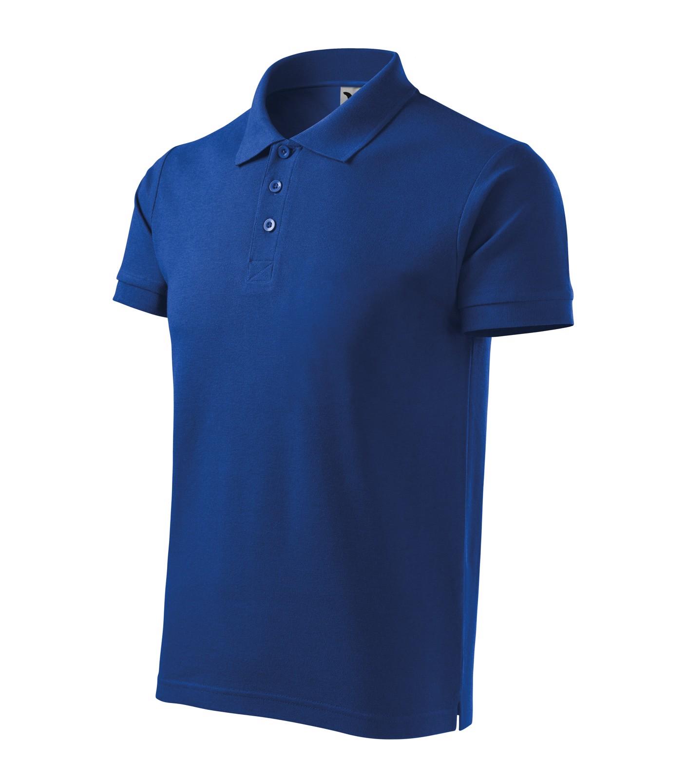 Polo Shirt Gents Malfini Cotton Heavy - Royal Blue / S