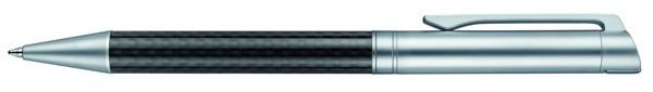 Senator® Carbon Line, Twist Ball Pen Metal - Metal