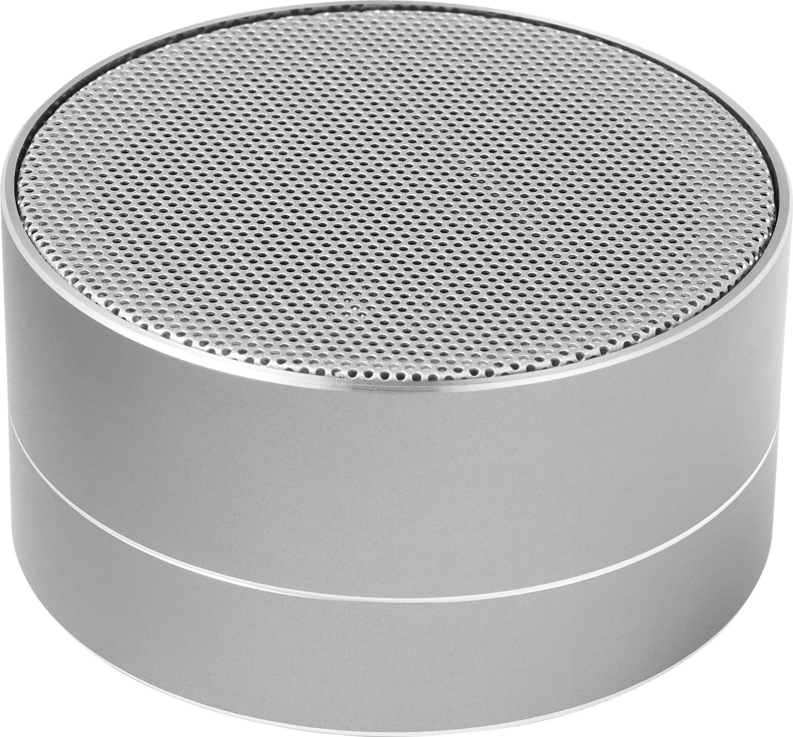 Aluminium wireless speaker - Silver