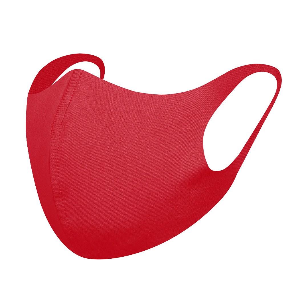 Mascarilla Higiénica Reutilizable Lermix - Rojo