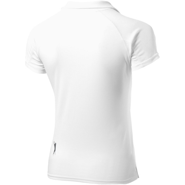 Game short sleeve women's cool fit polo - White / S