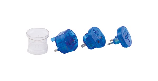 Travel Adapter Jetlag - Blue