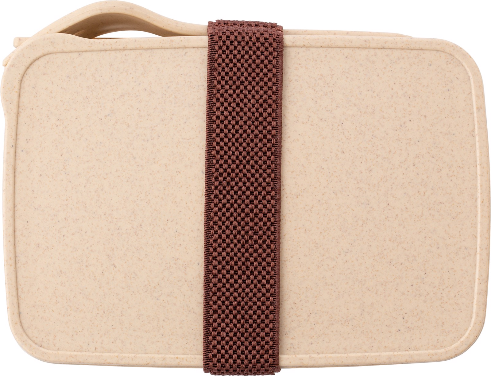 PP and wheat straw lunchbox - Brown