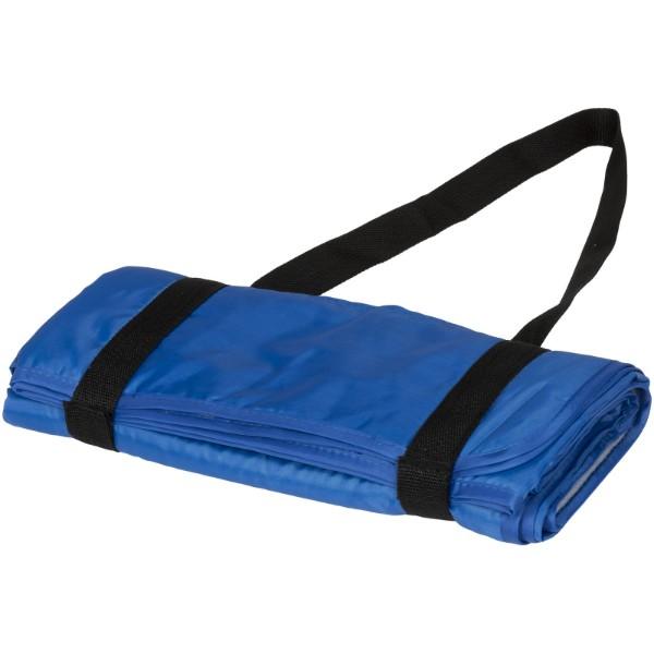 Roler Picknickdecke mit Tragegurt - royalblau