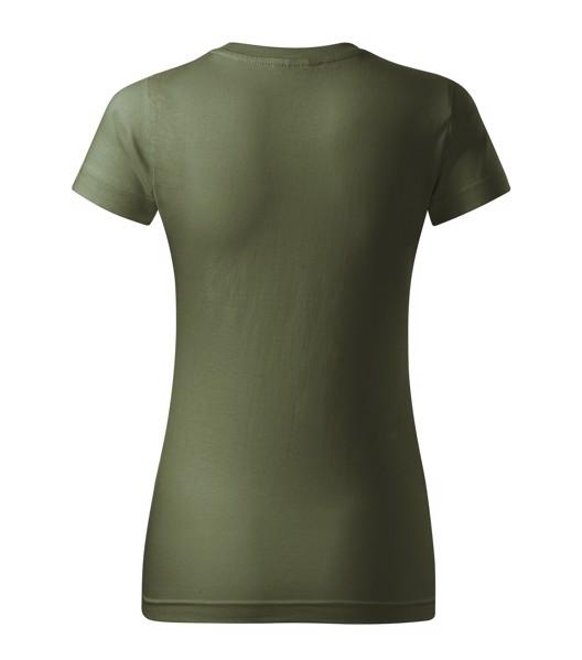 T-shirt women's Malfini Basic - Khaki / XL