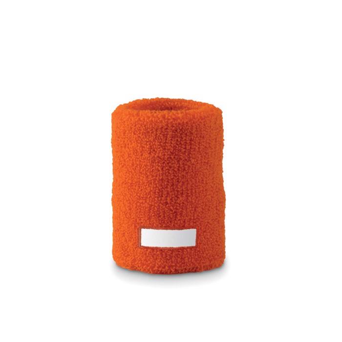Opaska-frotka na nadgarstek Guaiband - pomarańczowy