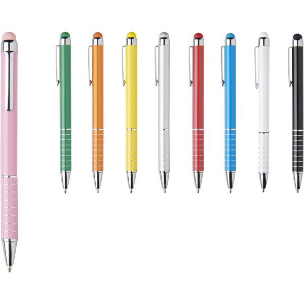 Długopis aluminiowy Glaze - Magenta