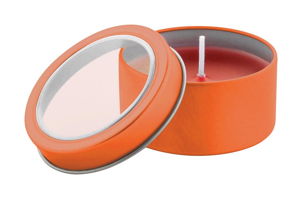 Svíčka Sioko - Oranžová
