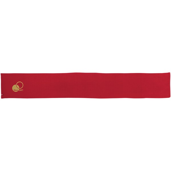 Šála Redwood - Červená s efektem námrazy