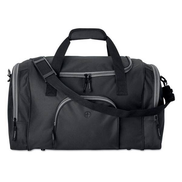 Sports bag in 600D Leis - Black