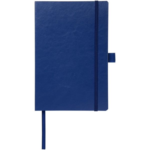 Robusta A5 PU leather notebook - Navy