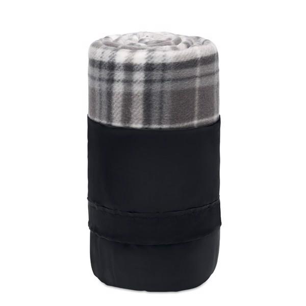 RPET fleece travel blanket Dinara Rpet - Grey