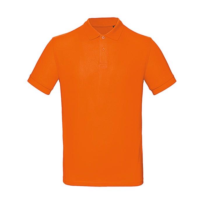 Polo men Poloshirt - Orange / XXL