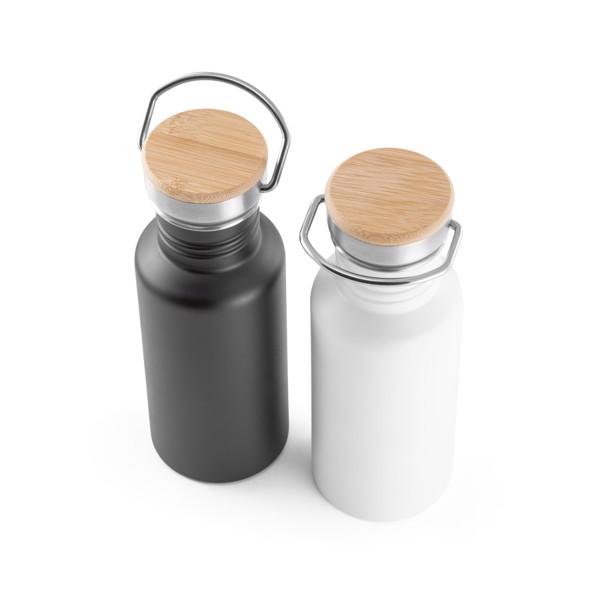 OASIS. Stainless steel bottle 540 ml - White