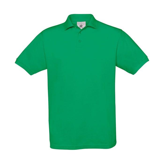 Men's Polo Shirt 180 g/m2 Pique Polo Safran Pu409 - Kelly Green / L