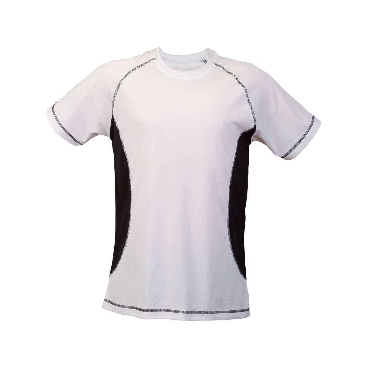 Sport T-Shirt Combi - Black / White / S