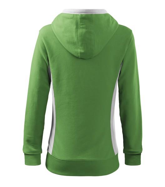 Sweatshirt women's Malfini Kangaroo - Grass Green / L
