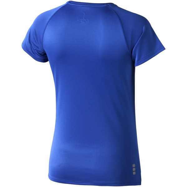 Dámské Tričko Niagara s krátkým rukávem, cool fit - Modrá / XL