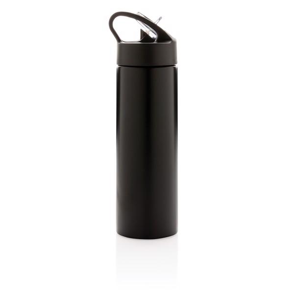 Sport vizespalack szívószállal - Fekete