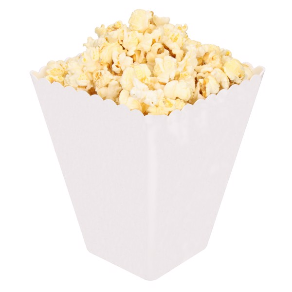 "Popcornschale ""Hollywood"" - Weiß"