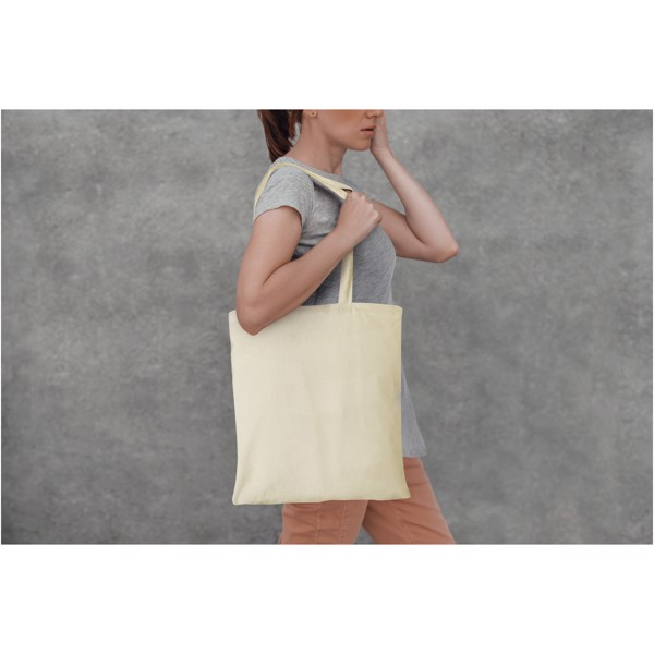 Peru 180 g/m² cotton tote bag - White