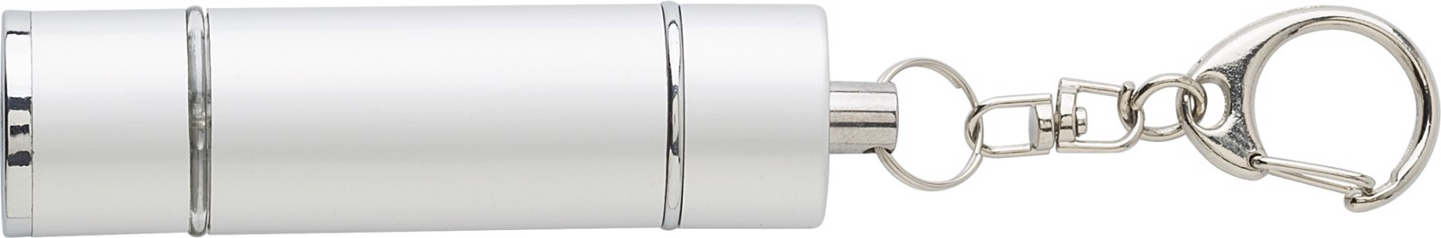 ABS 2-in-1 key holder - Silver
