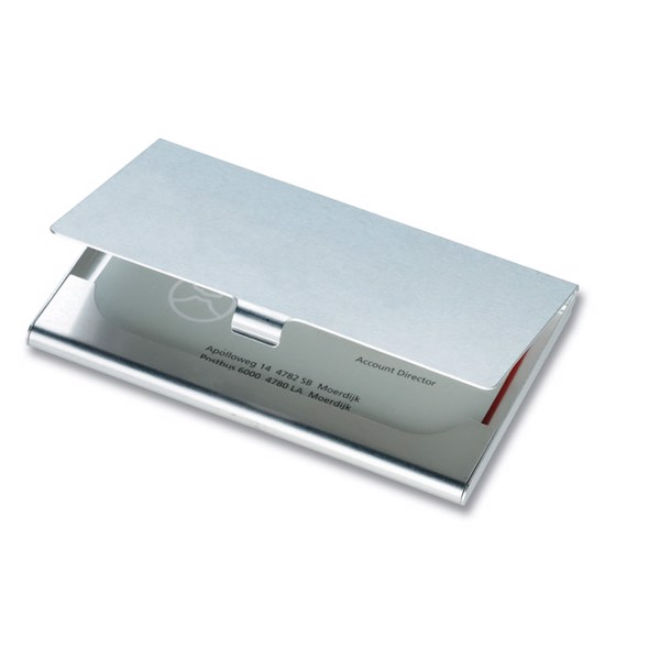 Aluminium business card holder Epsom
