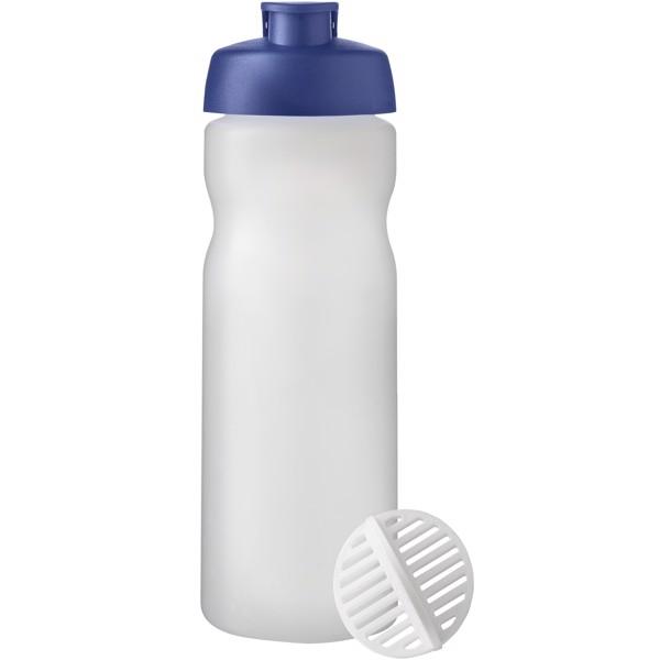Baseline Plus 650 ml shaker bottle - Blue / Frosted clear