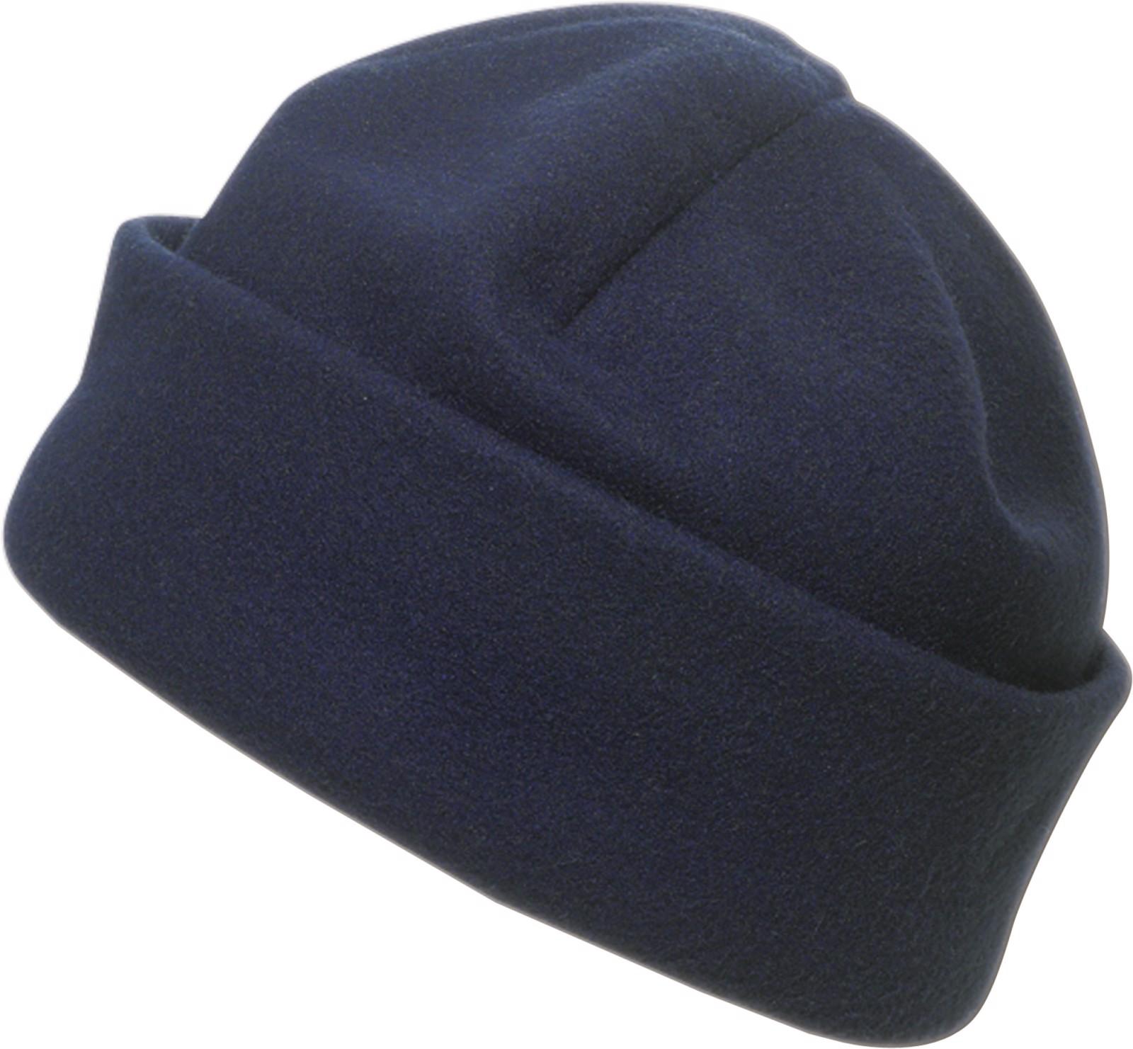 Polyester fleece (200 gr/m²) beanie - Blue