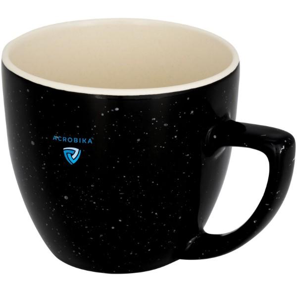 Sussix 325 ml gesprenkelte Tasse - Schwarz