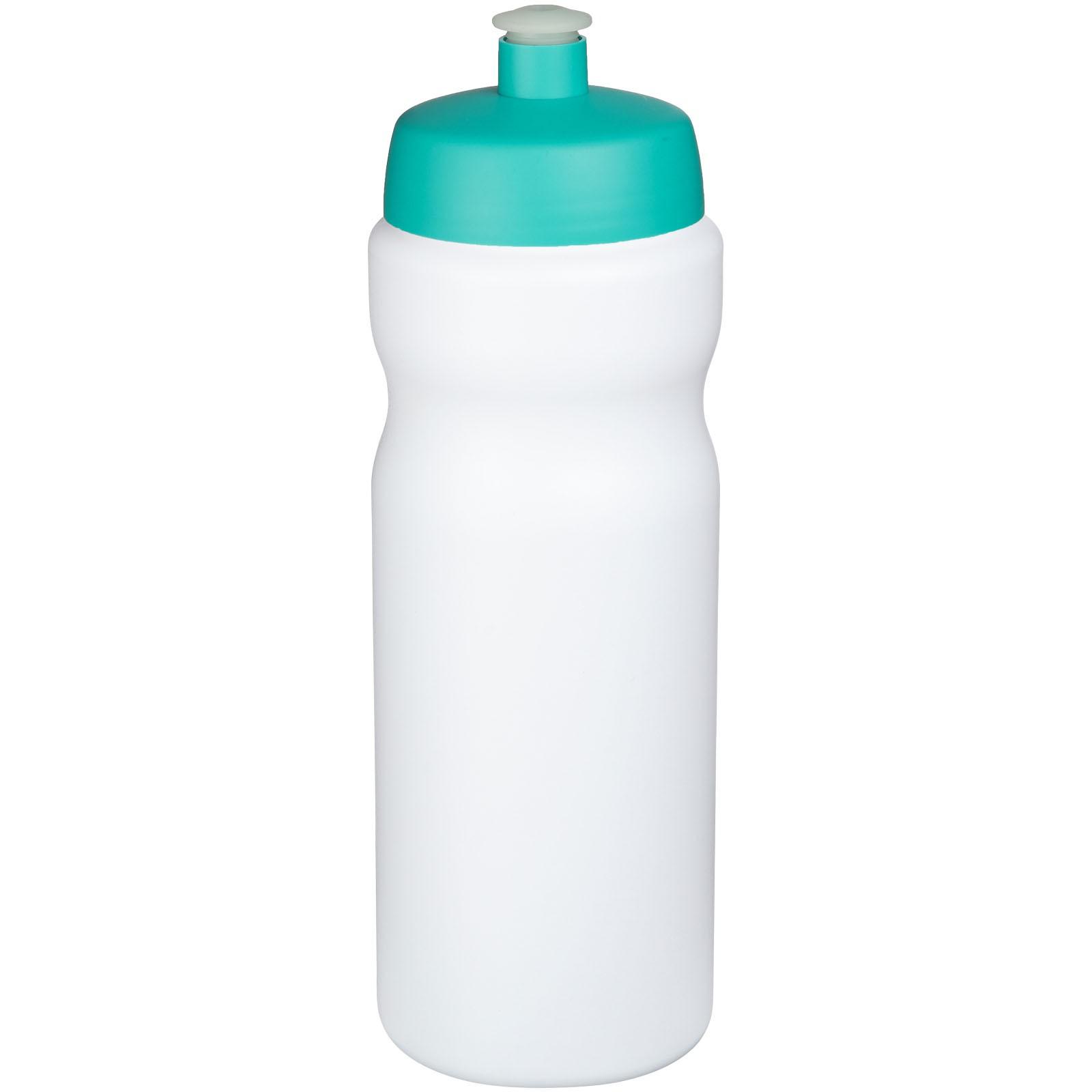 Baseline® Plus 650 ml sport bottle - White / Aqua