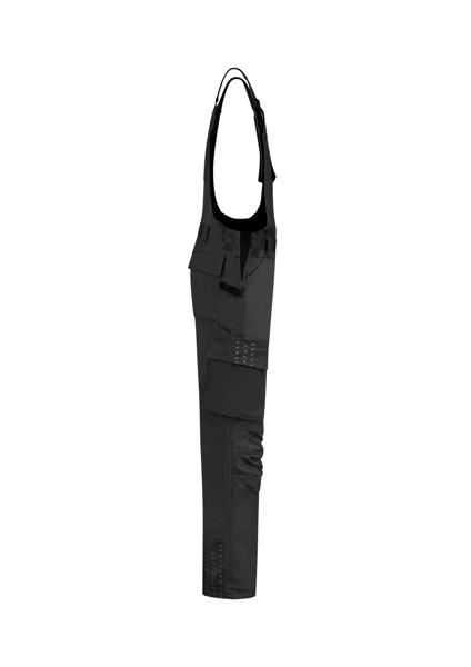 Pracovní kalhoty s laclem unisex Tricorp Bib & Brace Twill Cordura - Černá / 62