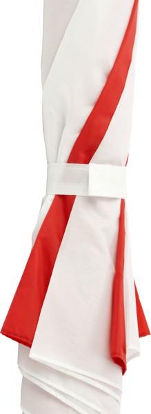 Polyester (190T) umbrella - Red / White