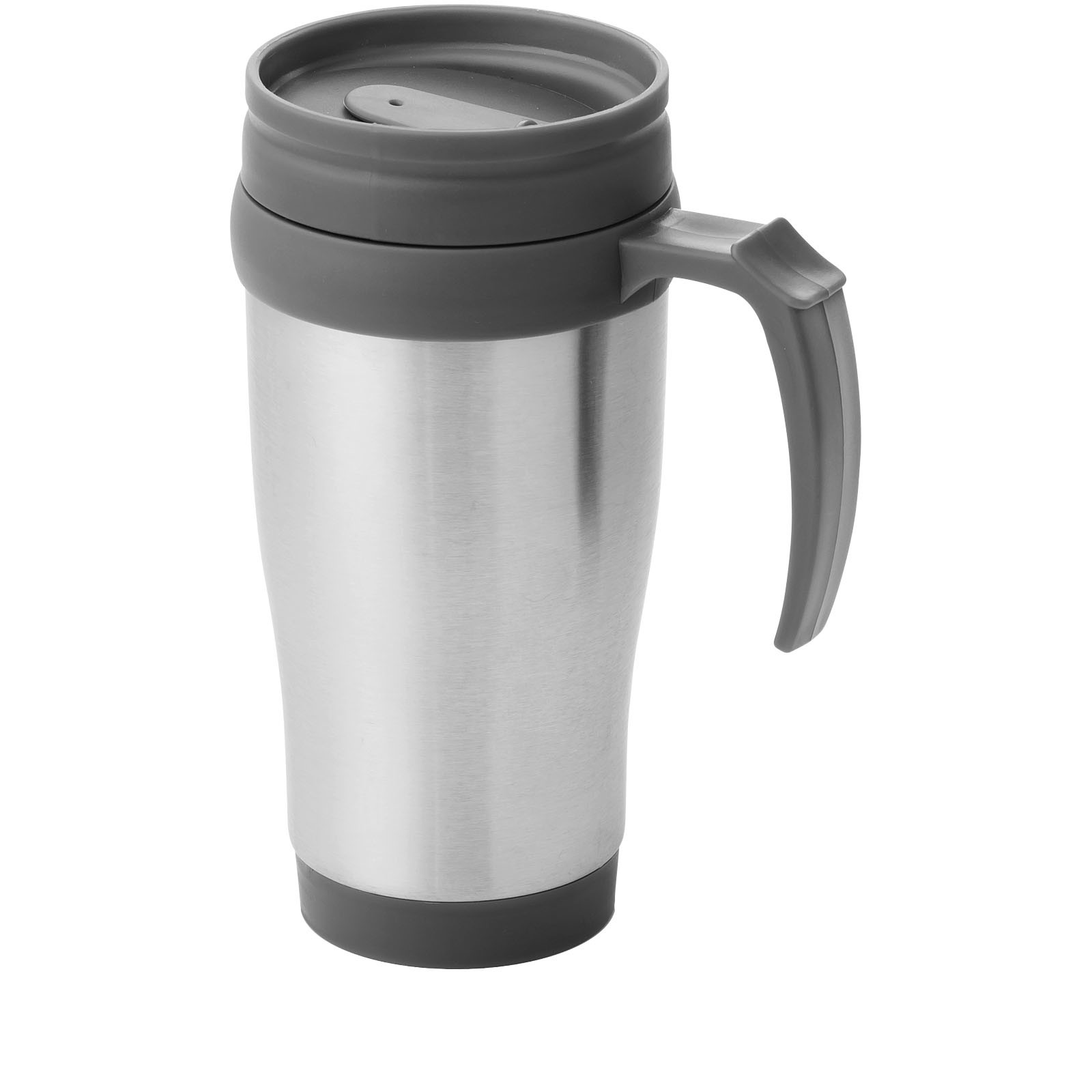 Sanibel 400 ml insulated mug - Silver / Grey