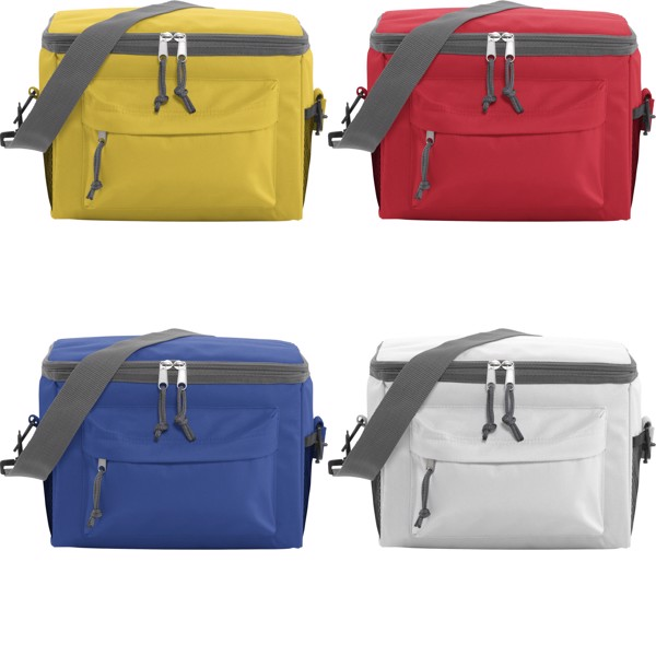 Polyester (600D) cooler bag - Yellow