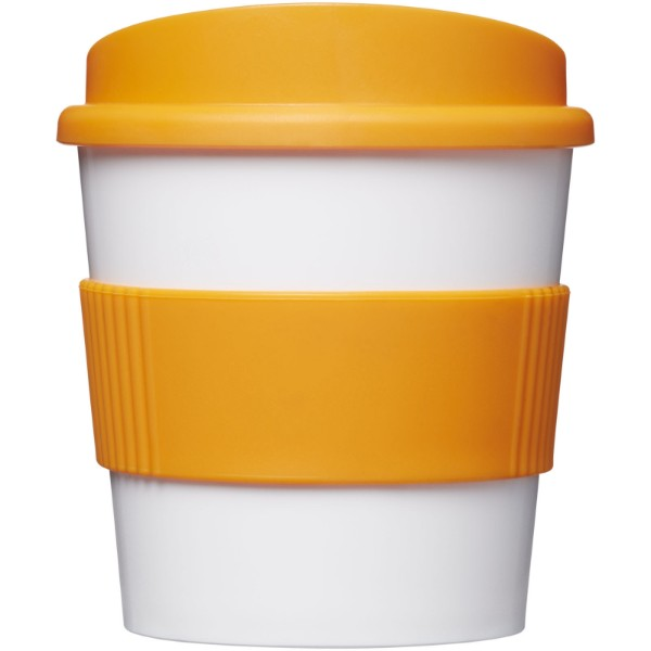Americano® primo 250 ml tumbler with grip - White / Orange